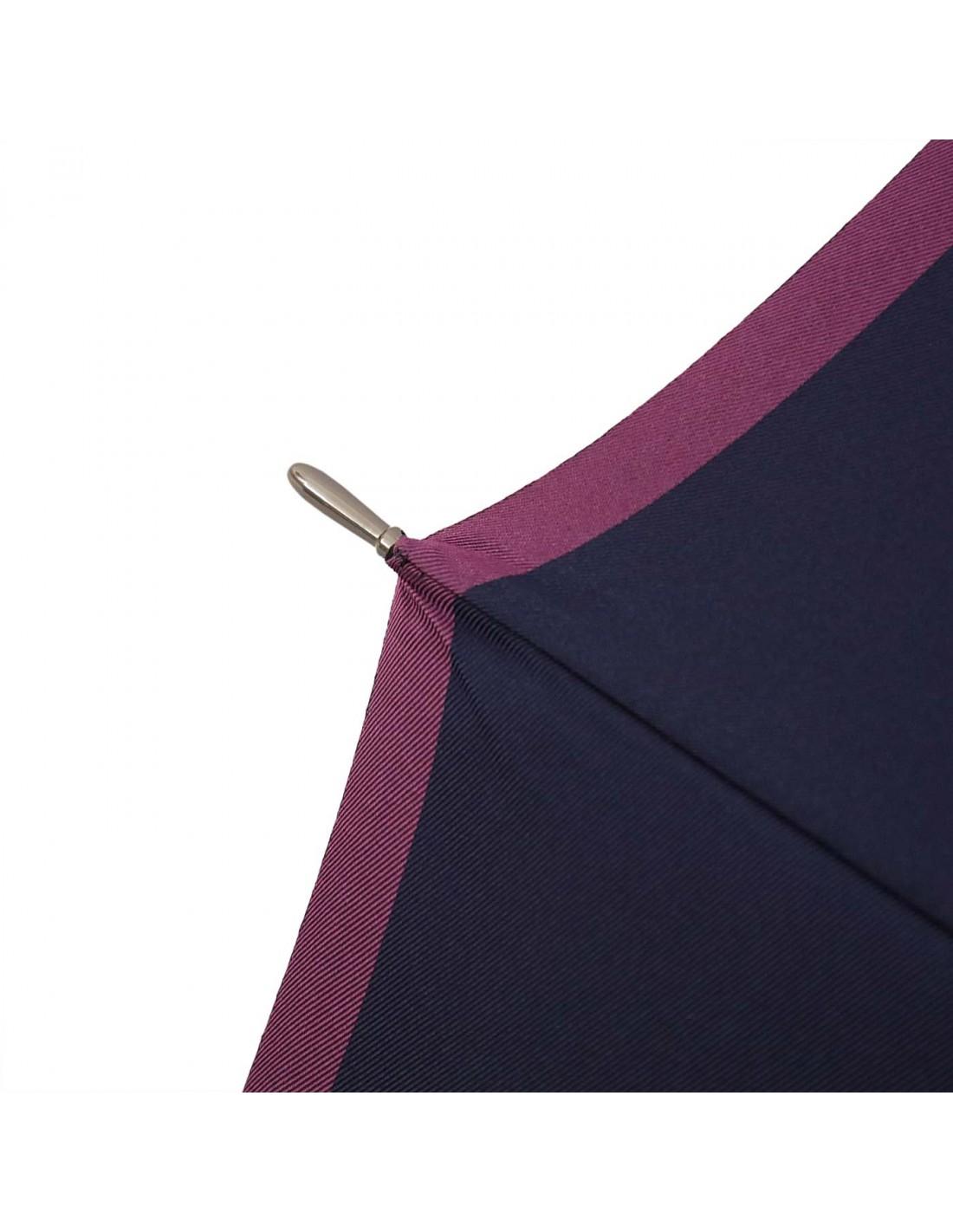 Damen Regenschirm Navy/Violett