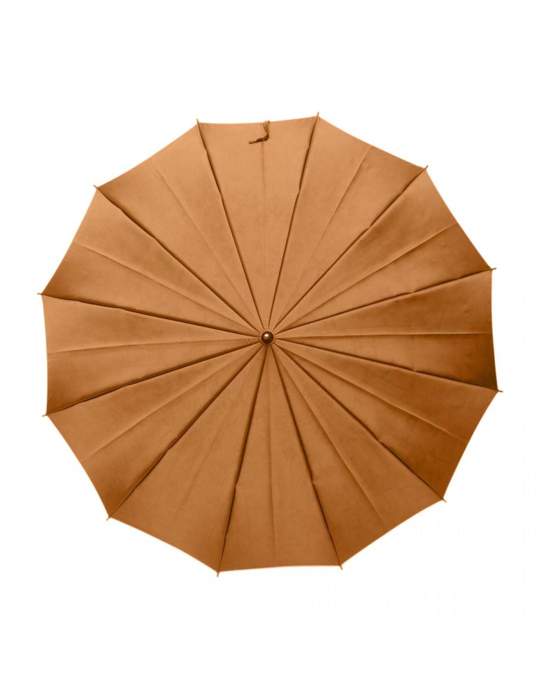Damen Regenschirm Blumenmuster Gelb