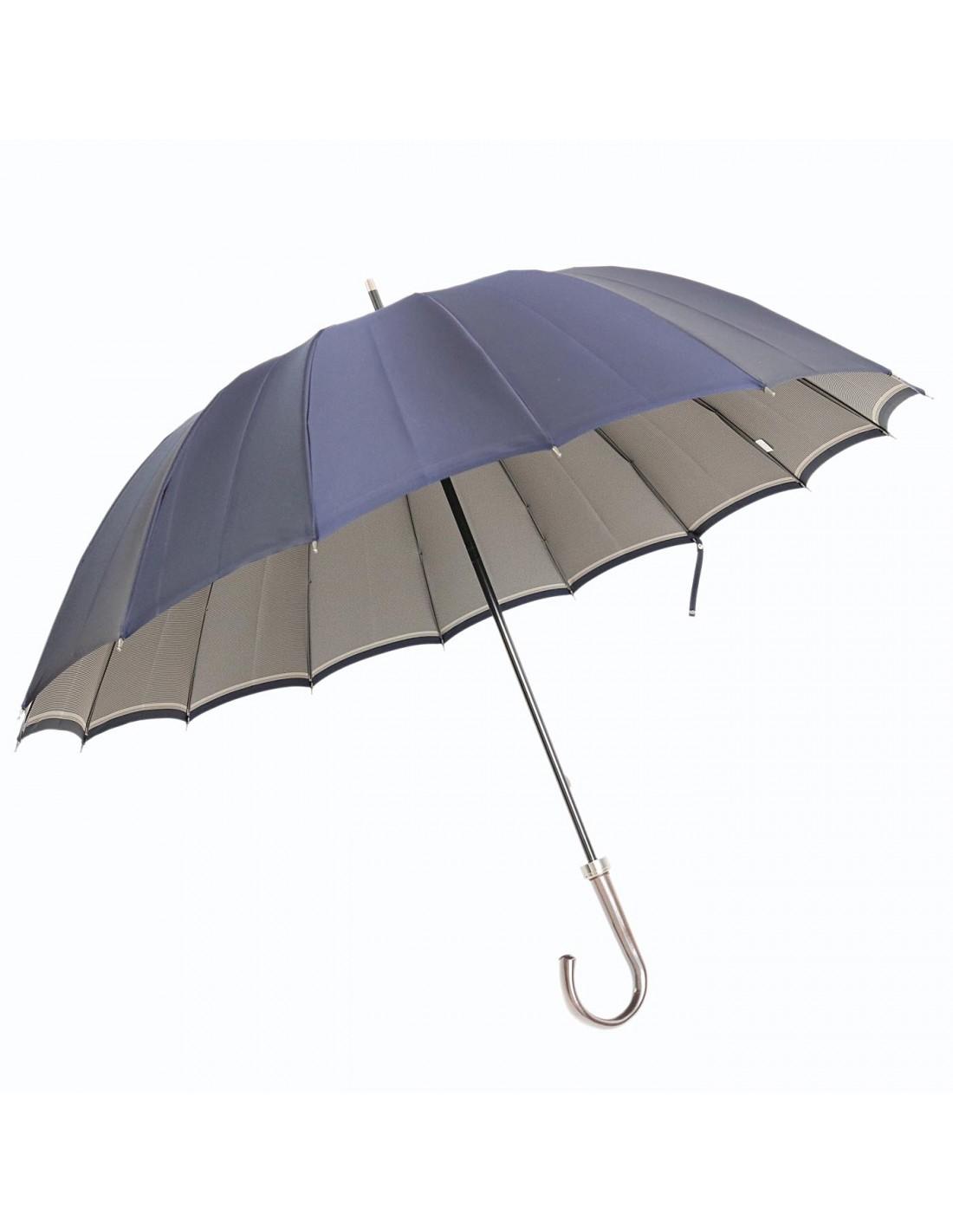 Regenschirm Back Stripe Navy