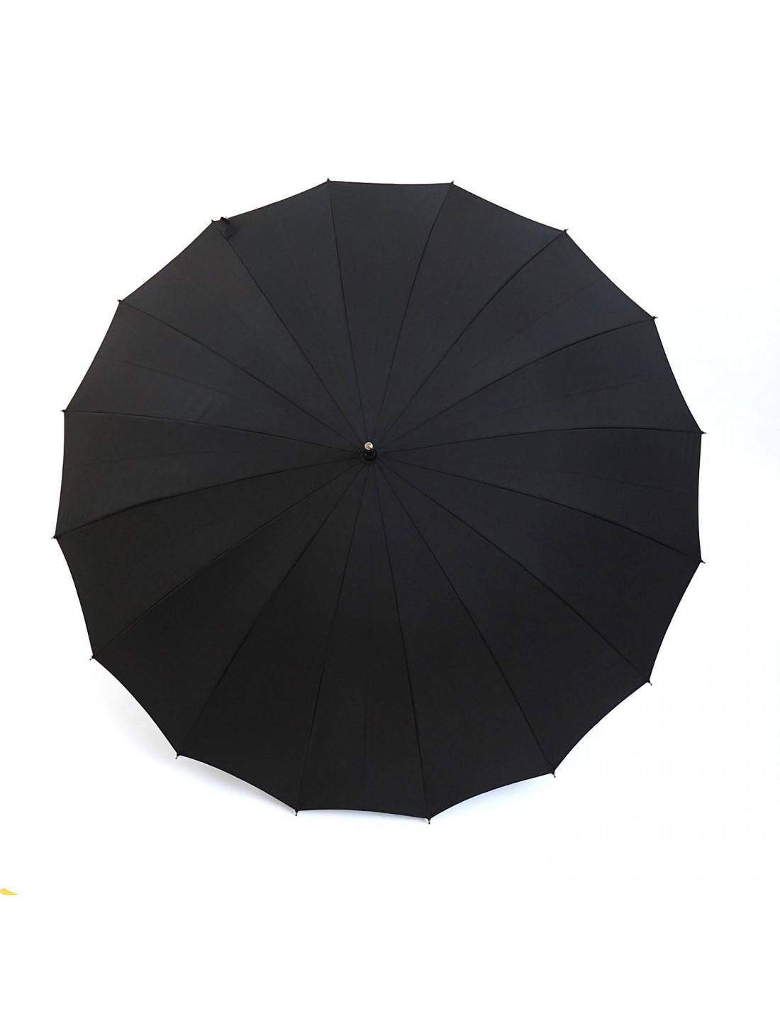 Regenschirm Water 65 Schwarz