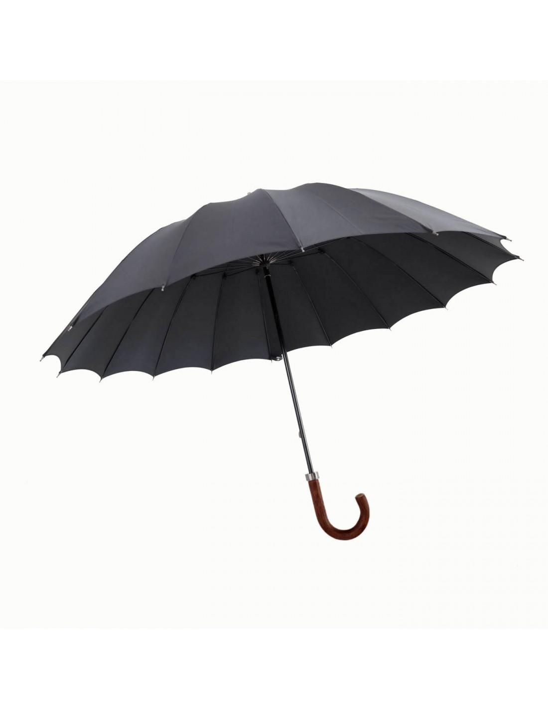 Regenschirm Water 70 Schwarz
