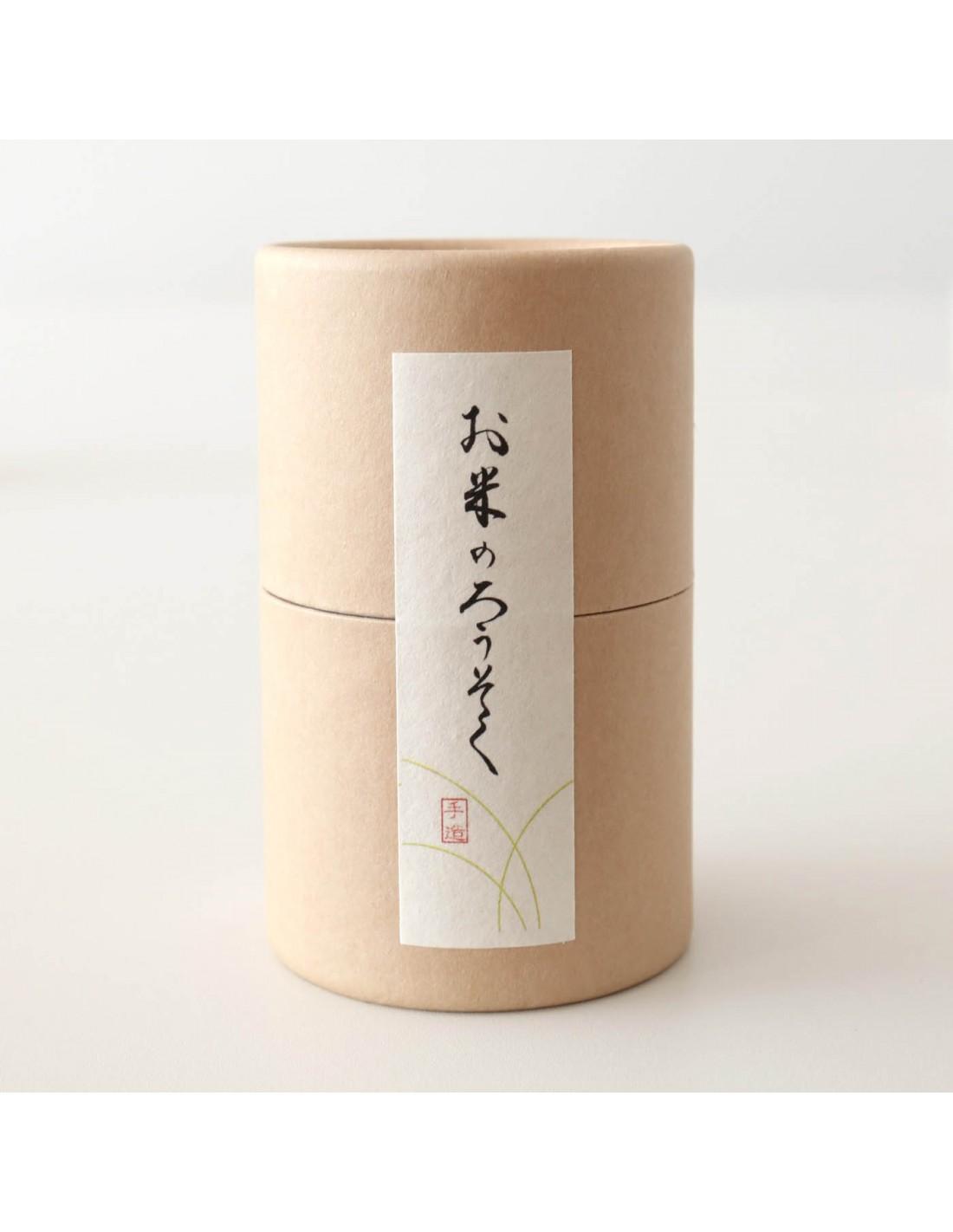 Reiswachskerzen 009 Natur