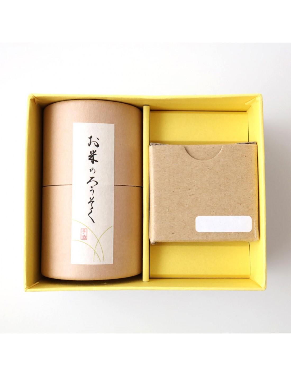 Reiswachskerzen Geschenkbox