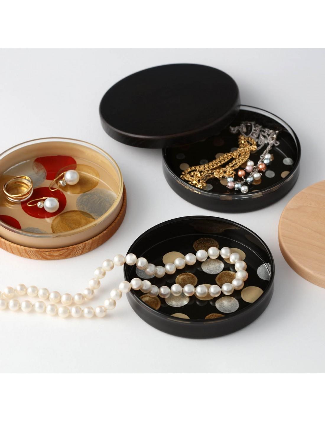 Deckel für Urushi Glasschale