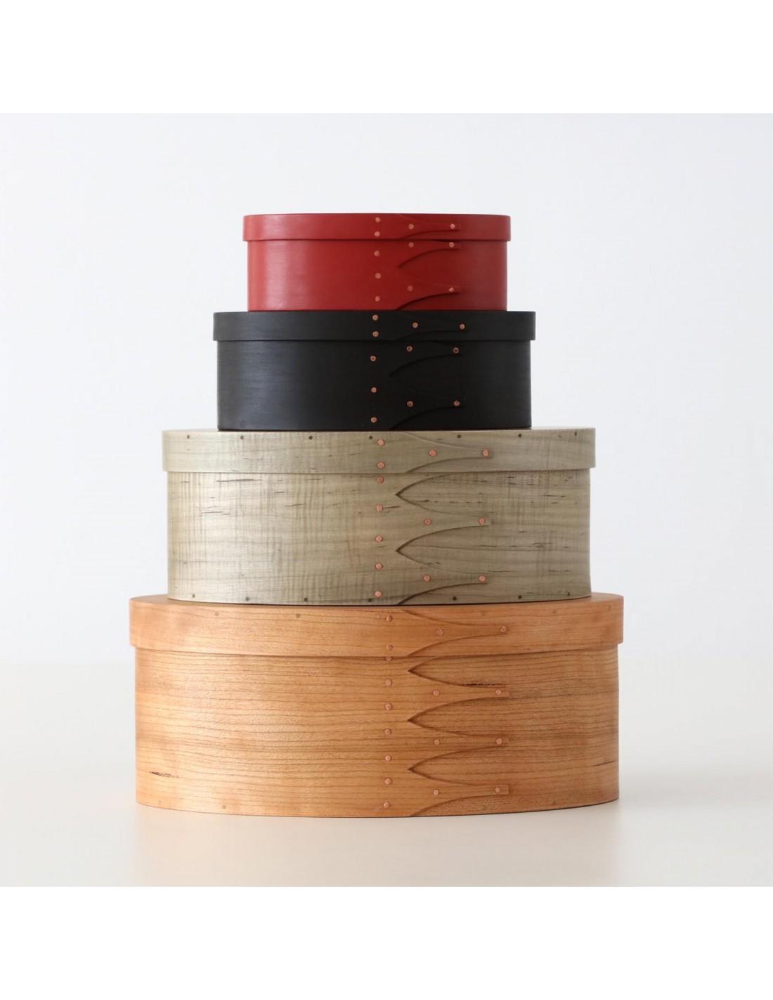 Holzbox schwarz/gold