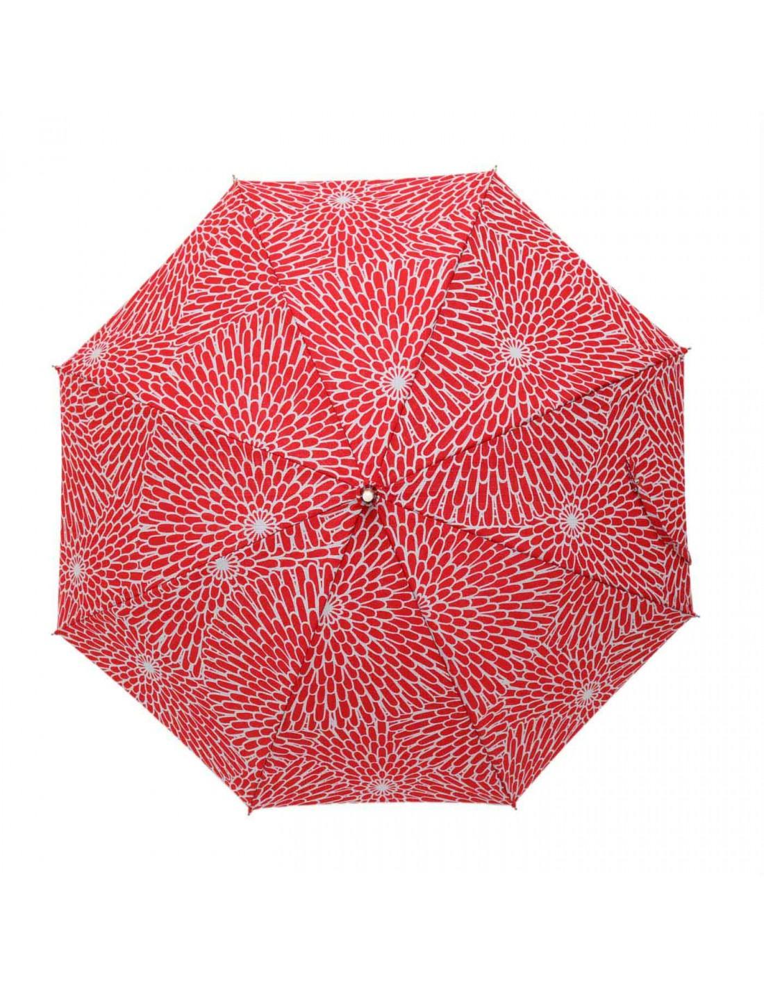 Damen Regenschirm Chrysantheme
